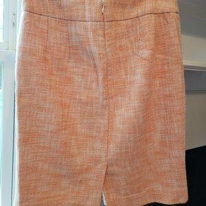 Banana Republic Skirts - Banana Republic Peach Pencil Skirt Size 4 EUC
